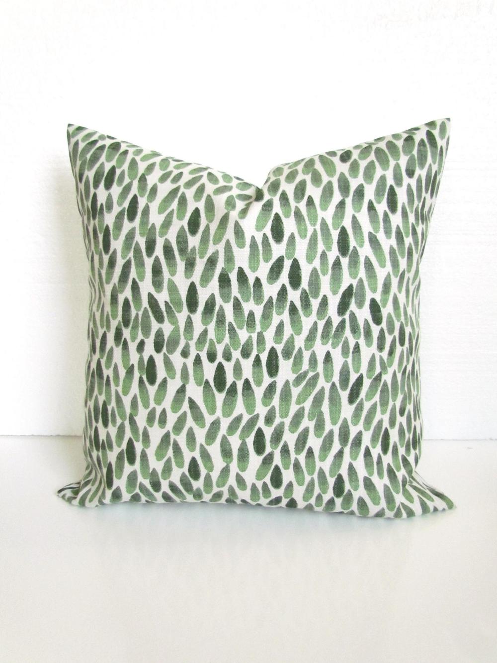 green outdoor pillows green outdoor