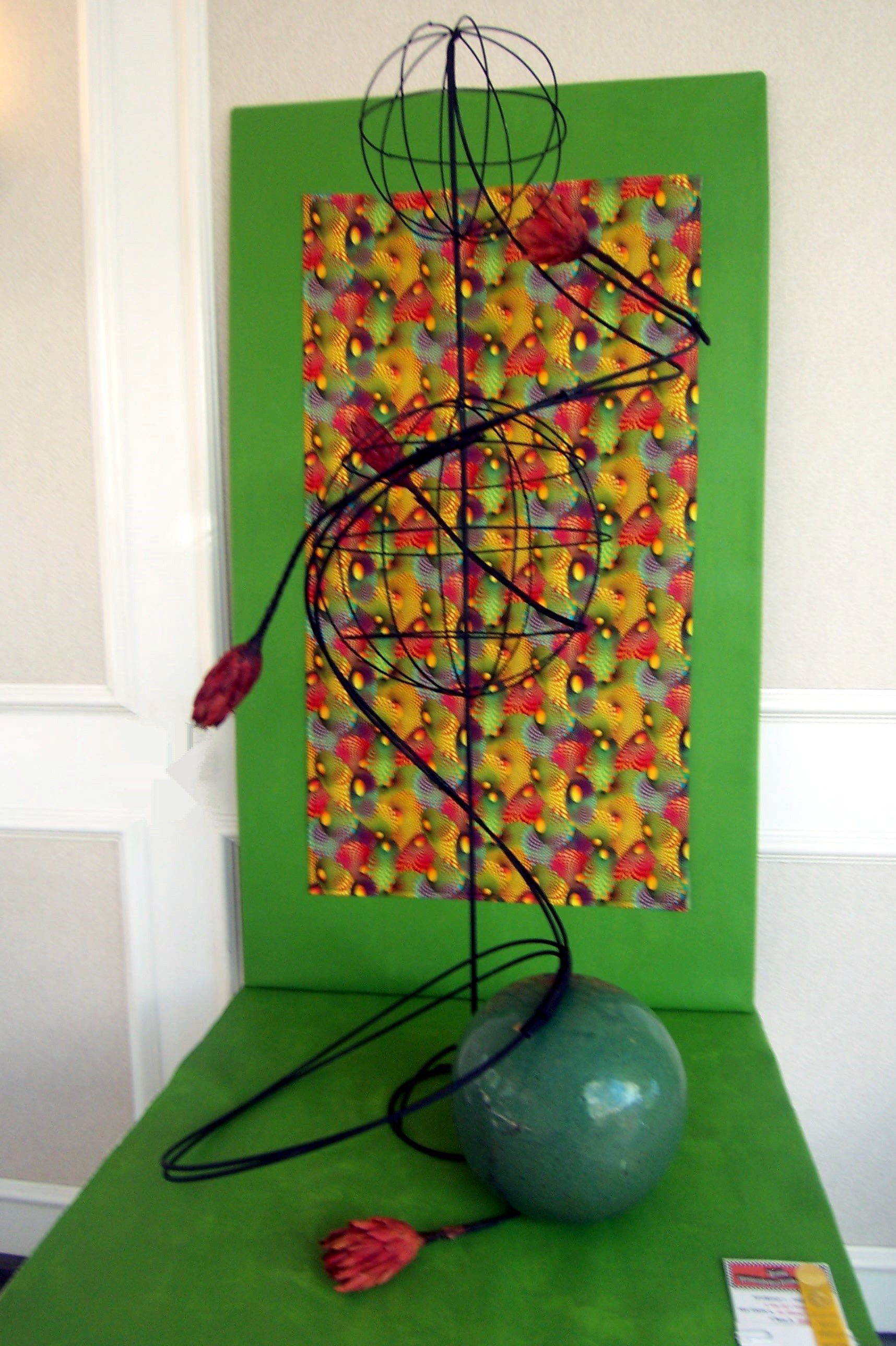 2013 Yellow Daisy Flower Show - Stone Mountain Georgia Op Art Design Floral Op-art