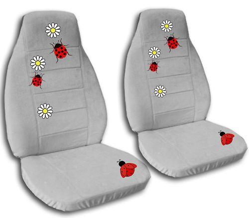 Cute Set Of Ladybug Car Seat Covers Choose Ur Colors Carseat Cover Ladybug Seat Covers