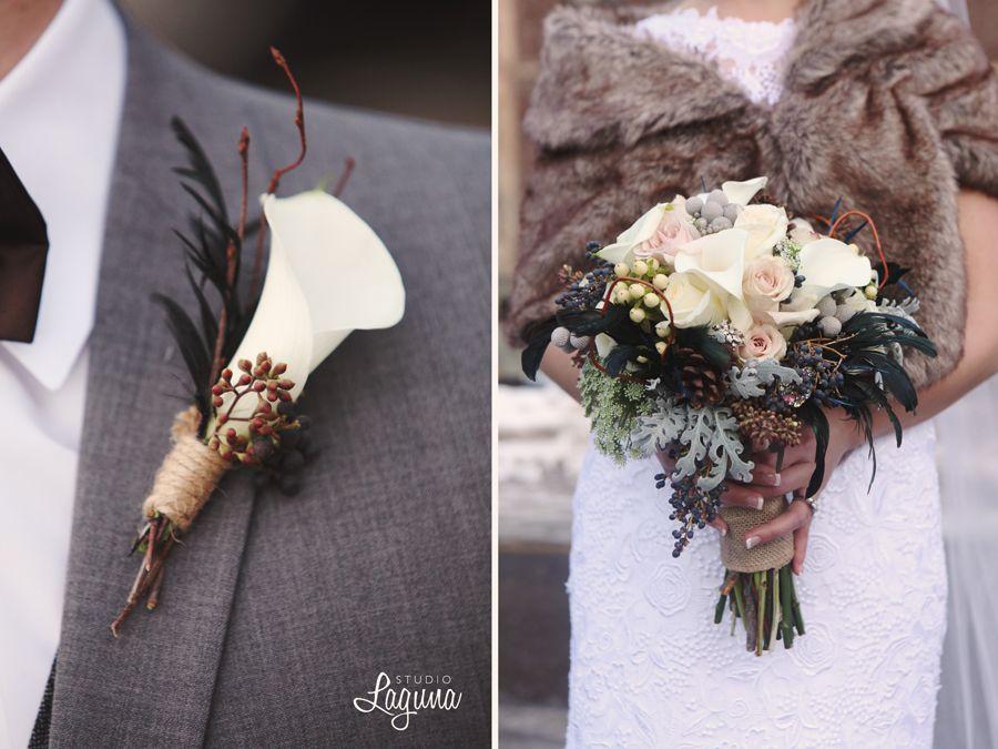 Winterhochzeit blumen  Pin von Casandra Benoit auf Chris & Casi's Wedding | Pinterest