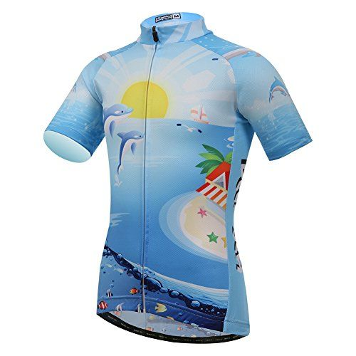 bf4560eb7 Amurleopard Boys Kids Dolphin Maillot Set Cycling Jersey Set With 3D Padded  Shorts Bib Shorts Jersey2X     For more information