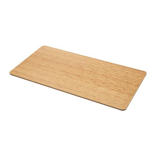 IKEA - ÖVRARYD, Pöytälevy, Pöytälevy on erittäin vahvaa bambua.Kokoamisen helpottamiseksi pöytälevyssä on valmiit reiät jalustaa varten.