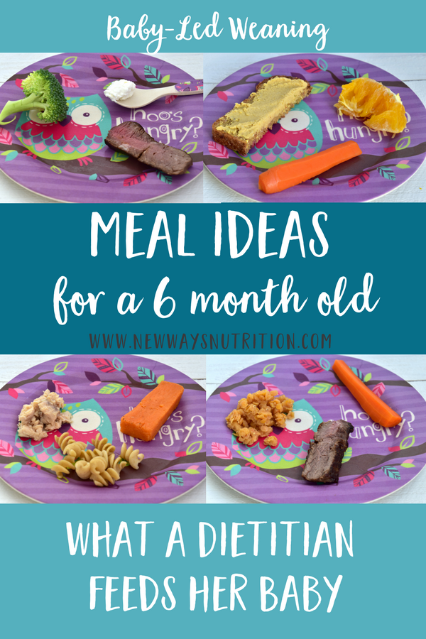 6 Month Old Baby Food Ideas Lunch New Ways Nutrition Baby Led Weaning Recipes Baby Food Recipes 6 Month Baby Food
