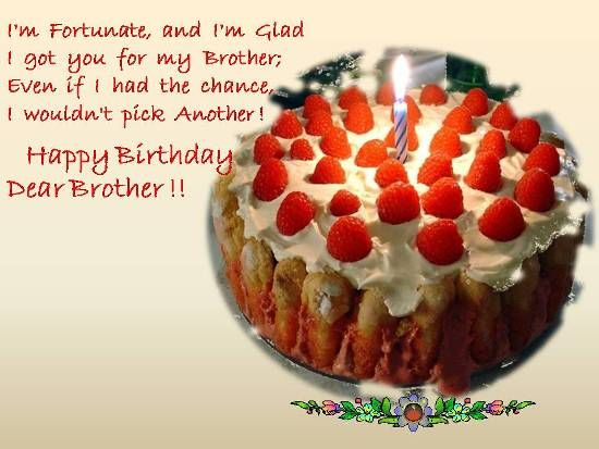 Happy Birthday Brother From Sister Birthday Wishes For Your Dear