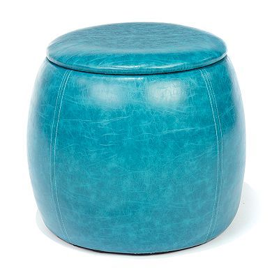 SONOMA life + style Storage Ottoman: cute elegant storage for blankets/throws or other living room items