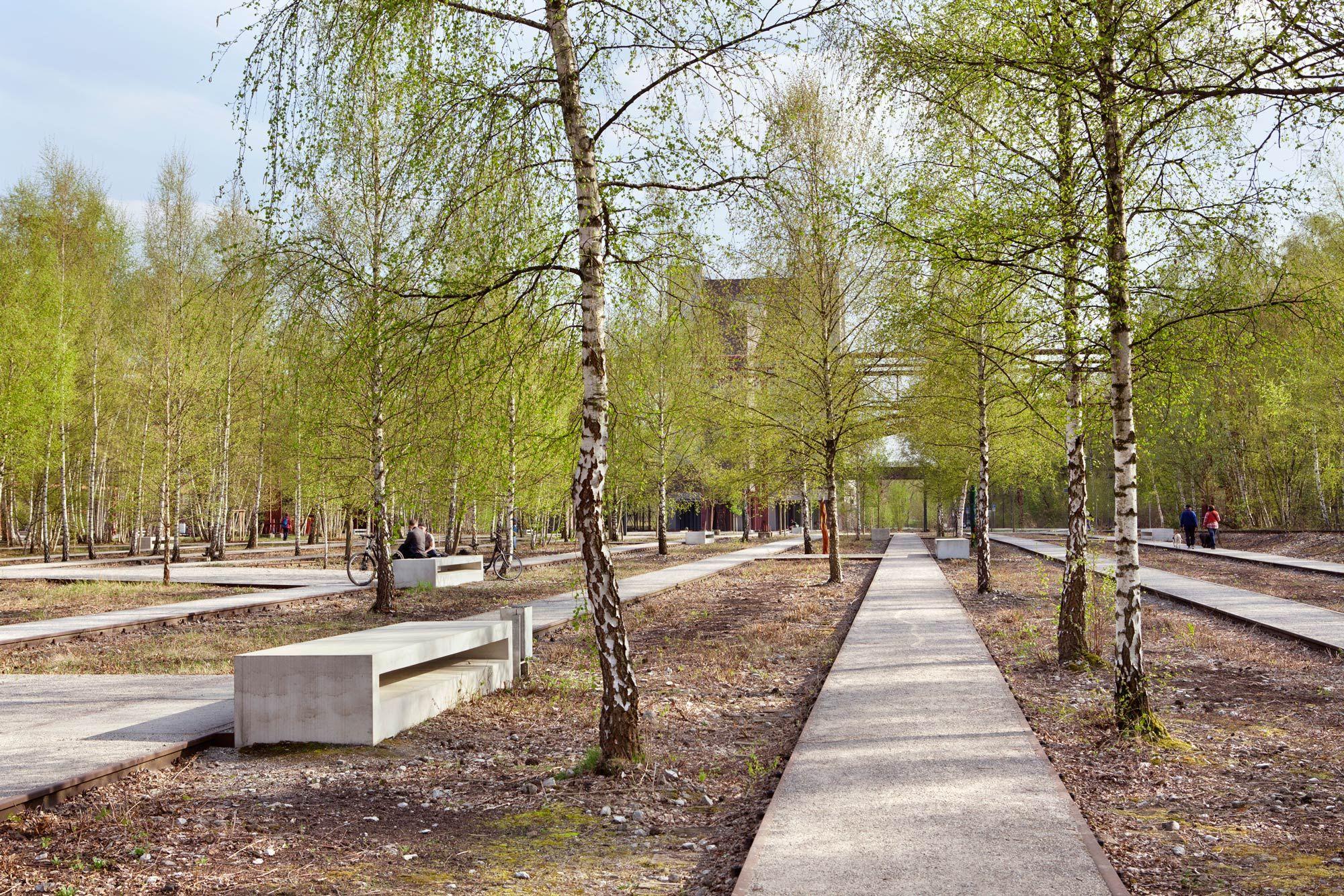 Zollverein Park By Planergruppe Gmbh Landscape Architecture Works Landezine What Is Landscape Architecture Landscape Architecture Park Landscape Design