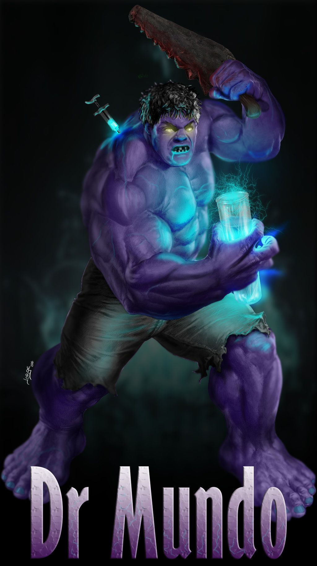 #Hulk #Fan #Art. (Dr mundo: League of Legends) By: Jorgux. (THE * 5 * STÅR * ÅWARD * OF: * AW YEAH, IT'S MAJOR ÅWESOMENESS!!!™)[THANK Ü 4 PINNING!!!<·><]<©>ÅÅÅ+(OB4E)