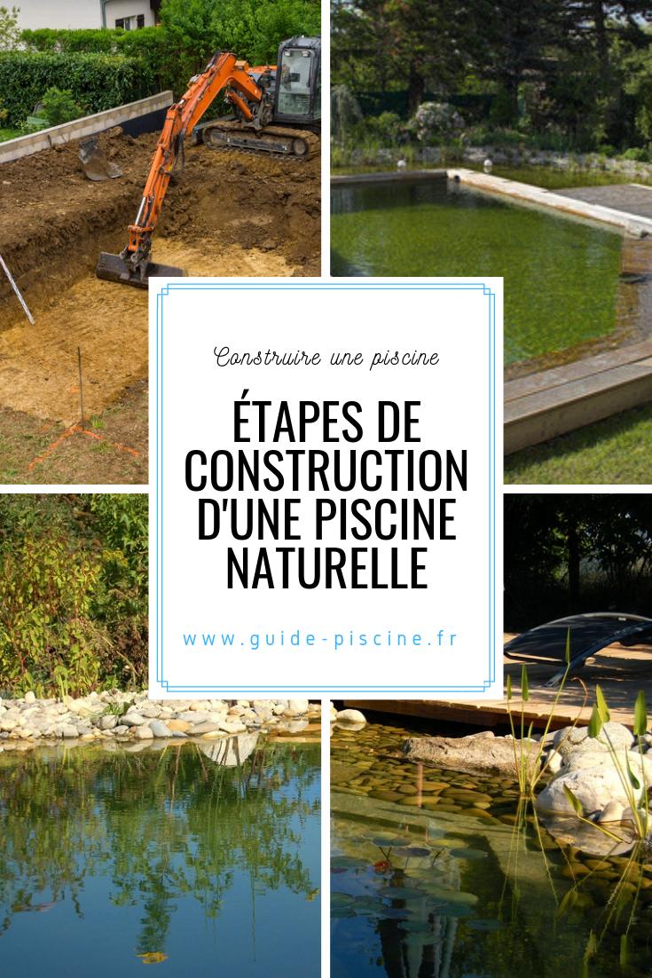 Construire Son Bassin De Jardin construction d'une piscine naturelle : installer un bassin