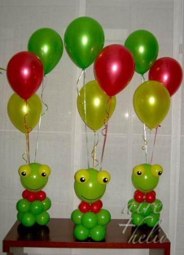 aire helio ambientacin y decoracin con globos