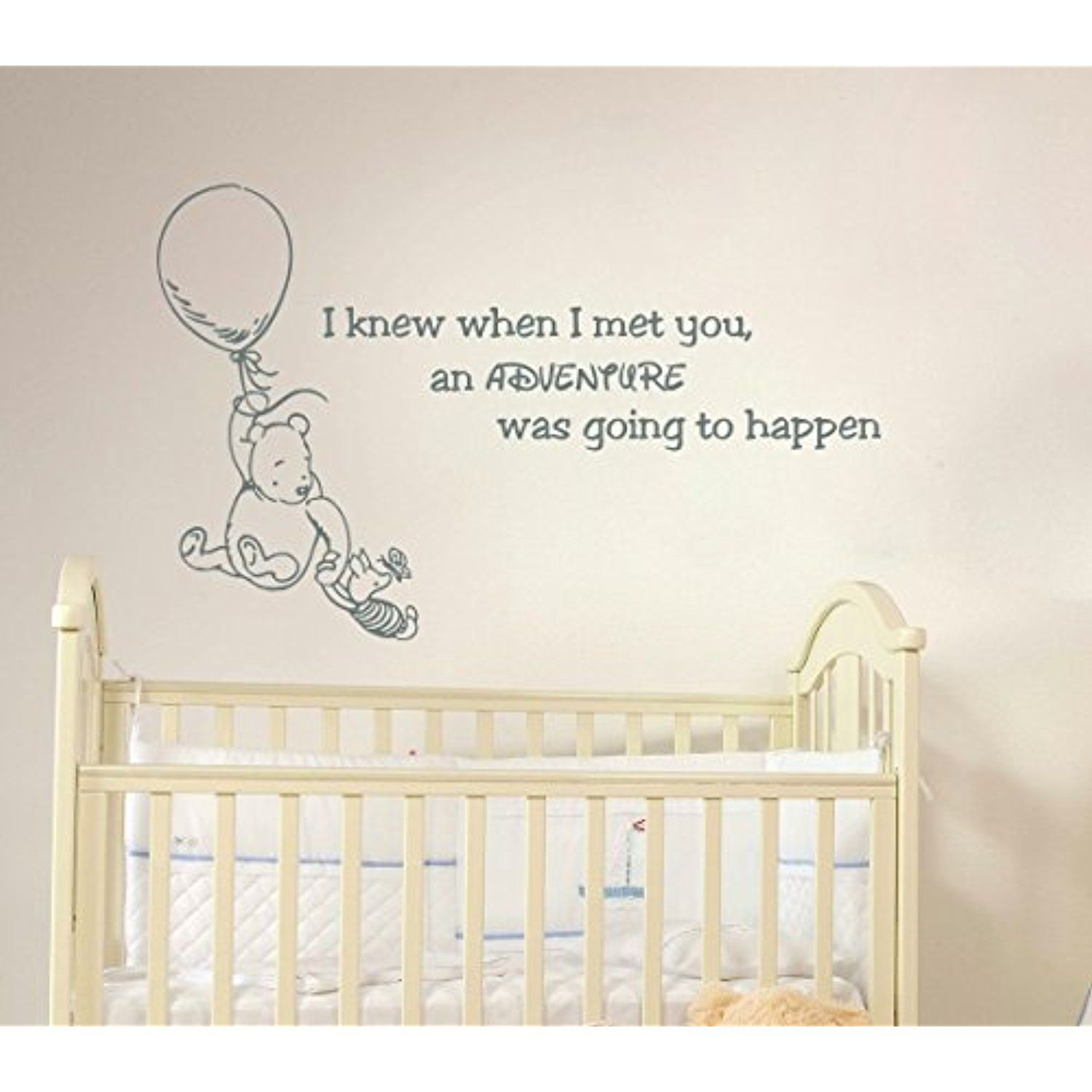 Winnie the pooh quote wall decal vinyl sticker decals quotes winnie the pooh quote wall decal vinyl sticker decals quotes adventure wall decal quote wall decor amipublicfo Images