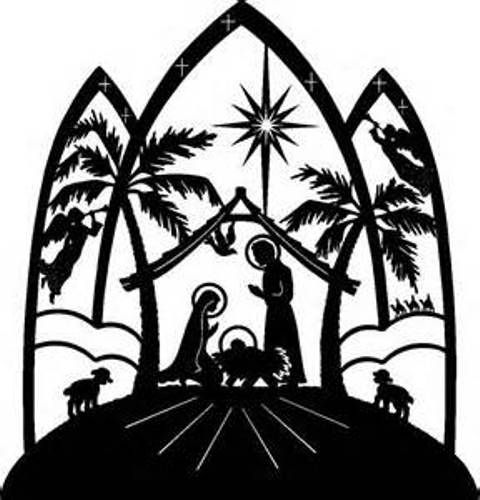 Christmas Images Free Clip Art Free Reference Images Christmas Nativity Scene Nativity Silhouette Christmas Nativity