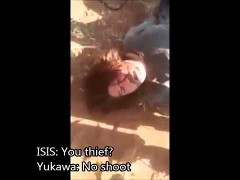 ISIS Video ~ ISIS Interrogate the Captured Japanese  SUBTITLED  19 aug. 2014