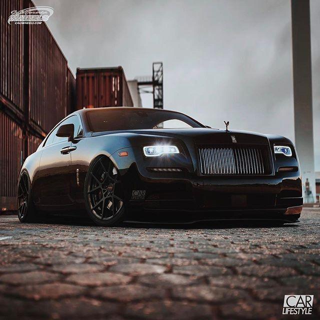 Slammed Rolls Royce Wraith [ Follow @caliwheels For More