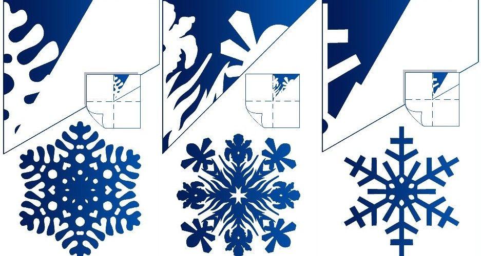 Видео снежинок из бумаги своими руками фото 441