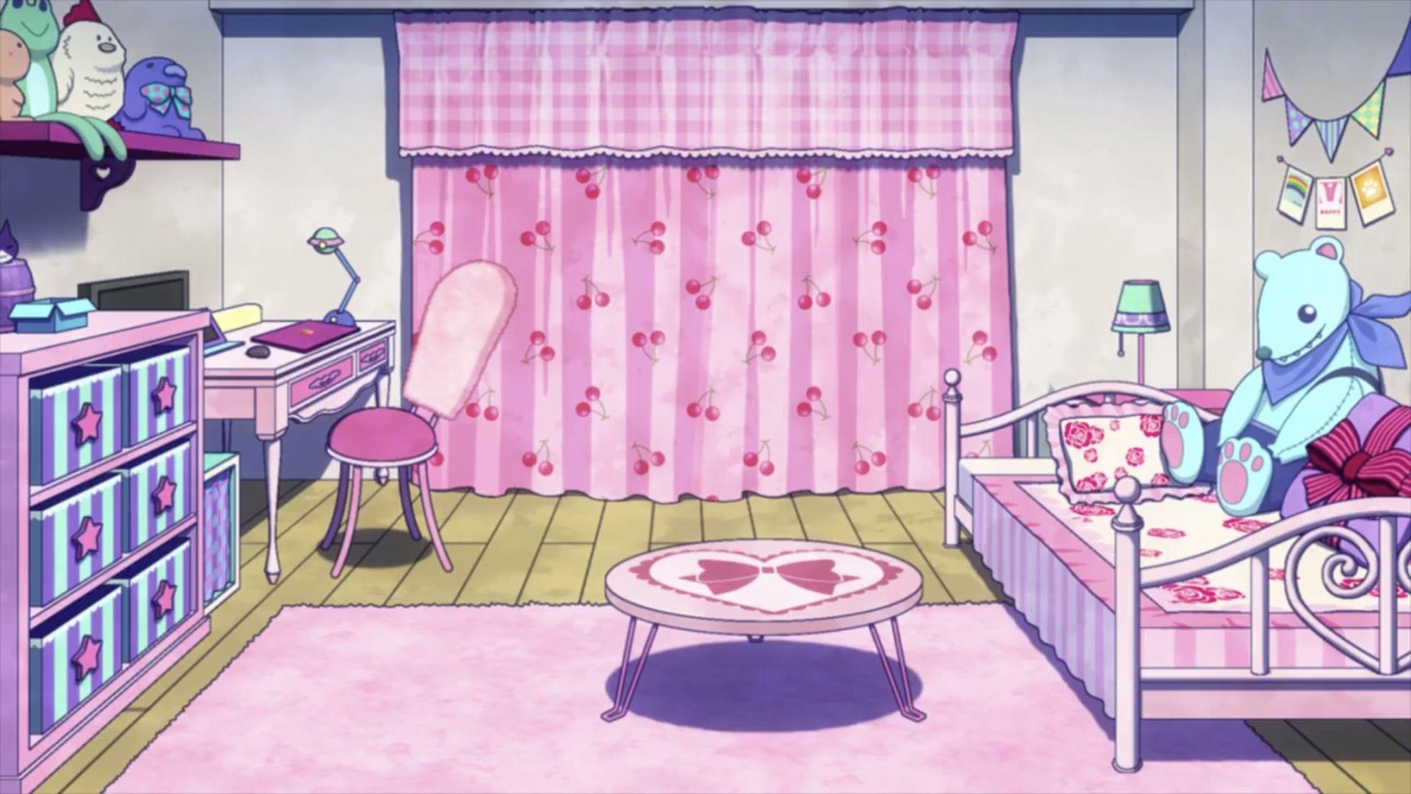 Hagakure Toru S Room Boku No Hero Academia Girls Dorm Room Room Girl Beds