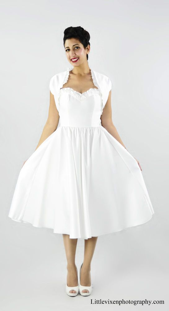 Fantastic Pin Up Girl Wedding Dress Composition - Dress Ideas For ...