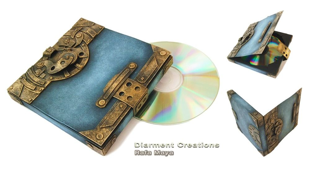 Steampunk CD Box by Diarment