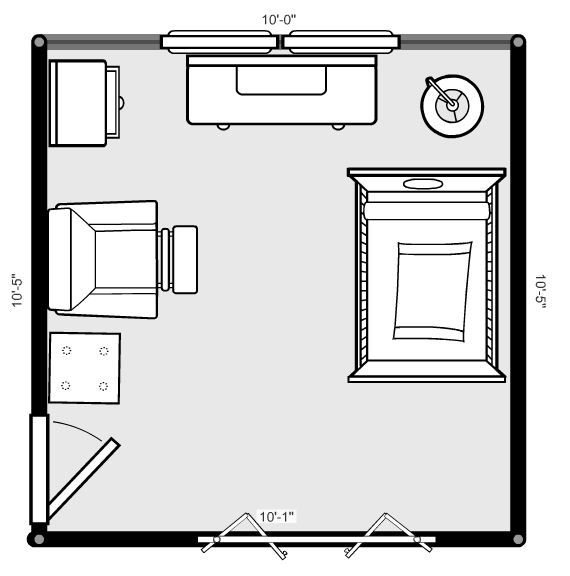 Choosing a Baby Nursery Layout (With images) Nursery