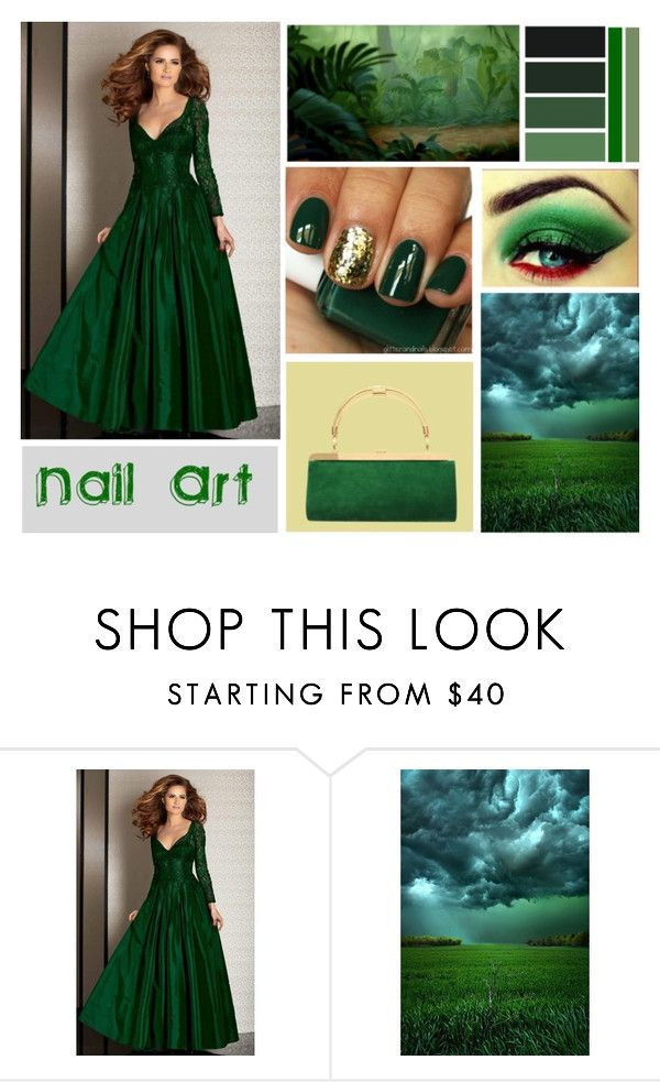 """""""Nail Art"""" by mstrendy01 ❤ liked on Polyvore featuring beauty, Clarisse and nailedit"""
