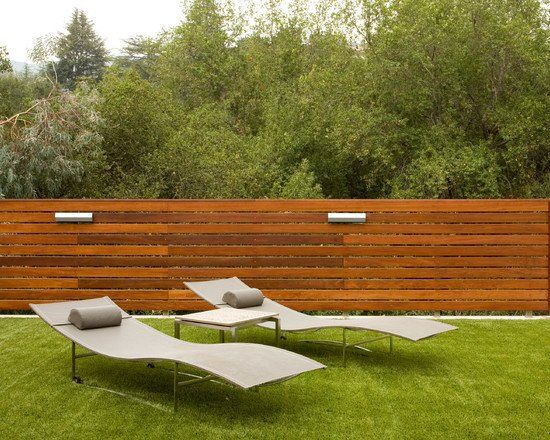 modern home privacy garden fence ideas wooden fence. Black Bedroom Furniture Sets. Home Design Ideas