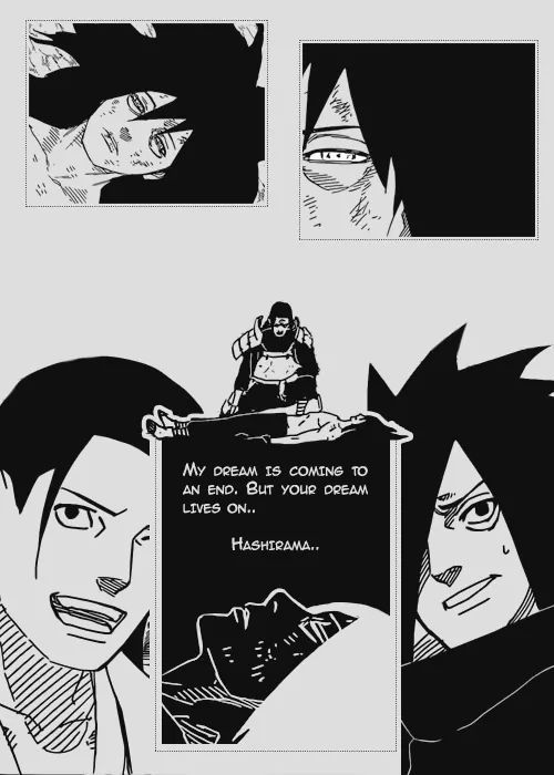 Friendships in Naruto are just like T.T ahh... so beautifully sad