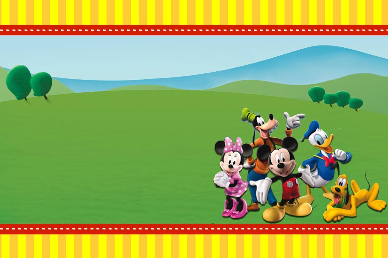 Montando Minha Festa A Casa Do Mickey Mouse Disney Em