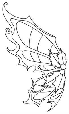 Sugar Plum Fairy Wings Wing Pair Image Fairy Wings Coloring