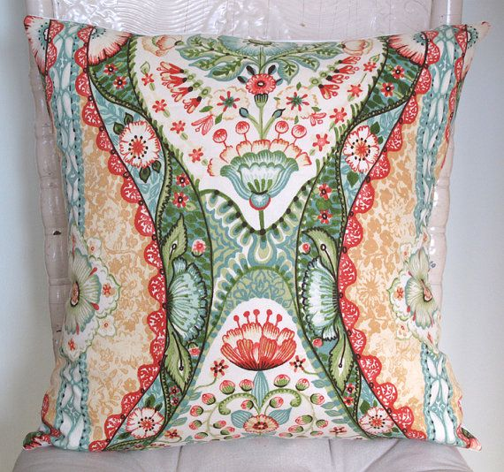 Romantic Pillow Cover. throw pillow. cushion cover. by MCCHome, $22.00