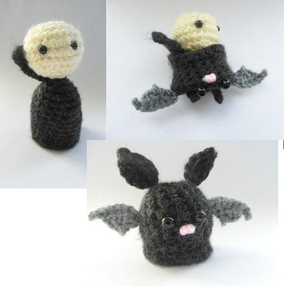 From Vlad to Bat crochet pattern pdf by cuteandkaboodle on Etsy ...