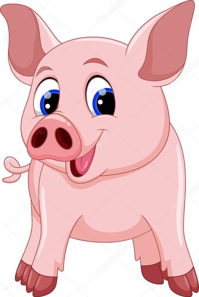 Milaya Svinka Risunok 11 Tys Izobrazhenij Najdeno V Yandeks Kartinkah Pig Cartoon Pig Painting Cute Pigs