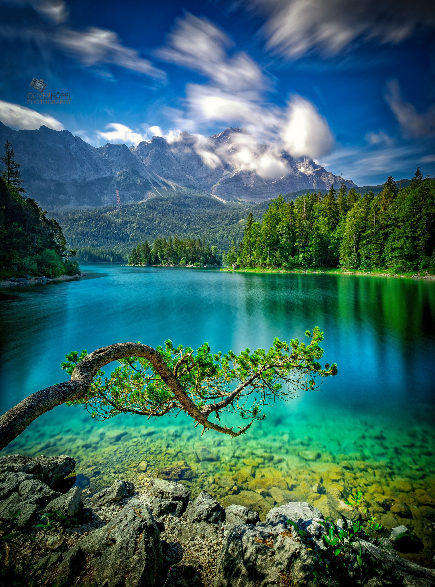 Eibsee Beautiful Nature Pictures Beautiful Photos Of Nature Waterfall Photography