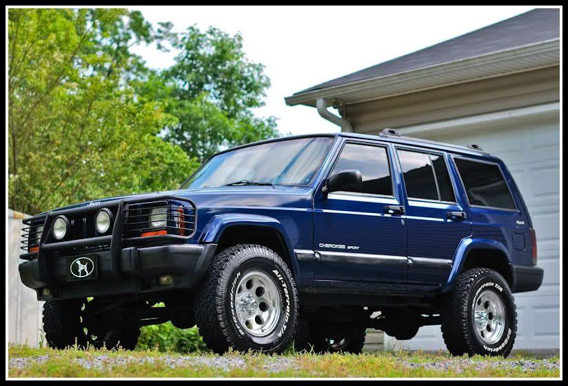 Clean 2001 Jeep Cherokee Sport 4x4 Outdoor News