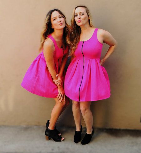 Sweetheart Dress - Nobella Grace Boutique! A pink dress is a must for every gal! #pink #nobellagrace #bestfriends