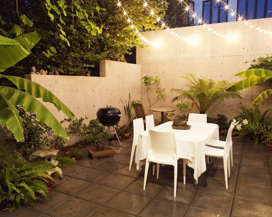 decorar un patio interior buscar con google