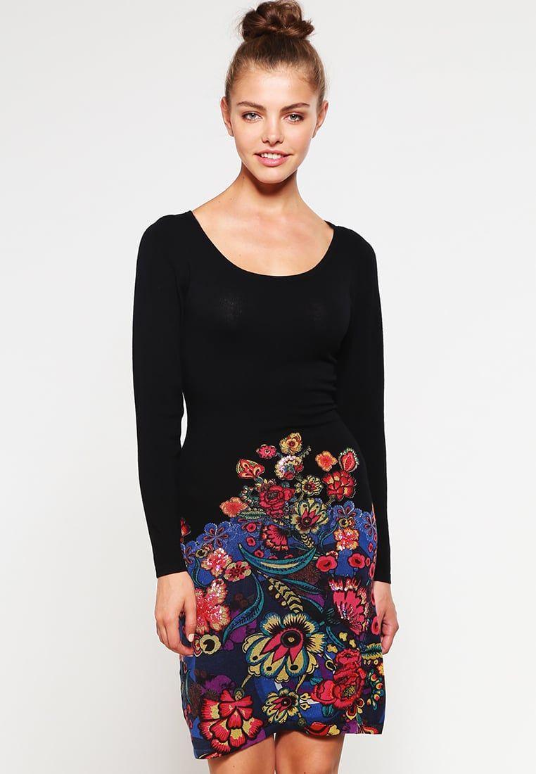 f4990a8df Mujer Vestidos Desigual MARTINA - Vestido de punto - black,rebajas ...