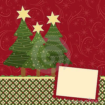 Beautiful Blank Template Christmas Greetings Card 17014305  Blank Christmas Templates