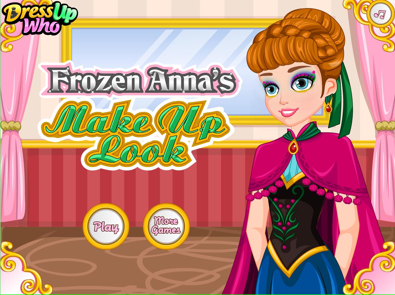 Frozen Anna's Make Up Look! frozen makeup anna