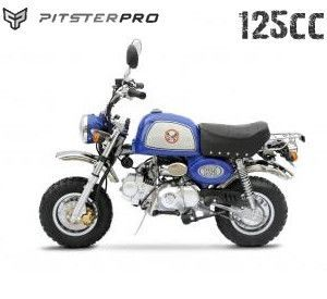 Mini Rover 125 Pitster Pro Retro 125cc Pit Bike Moped