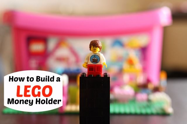 How to Build a Lego Money Holder | Money holders, Lego and Gift