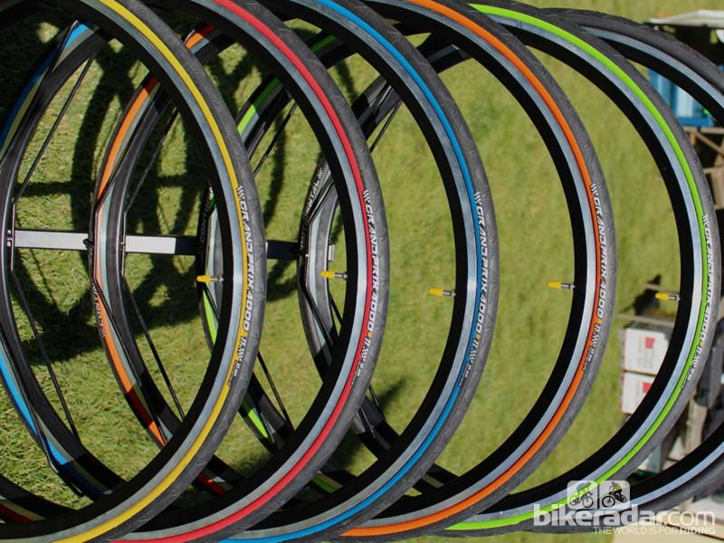The Continental Grand Prix 4000s comes in different colours this year
