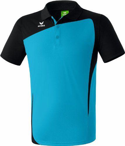 check out 3c0c1 300eb erima Herren Poloshirt Club 1900, curacao schwarz, XL XXL ...