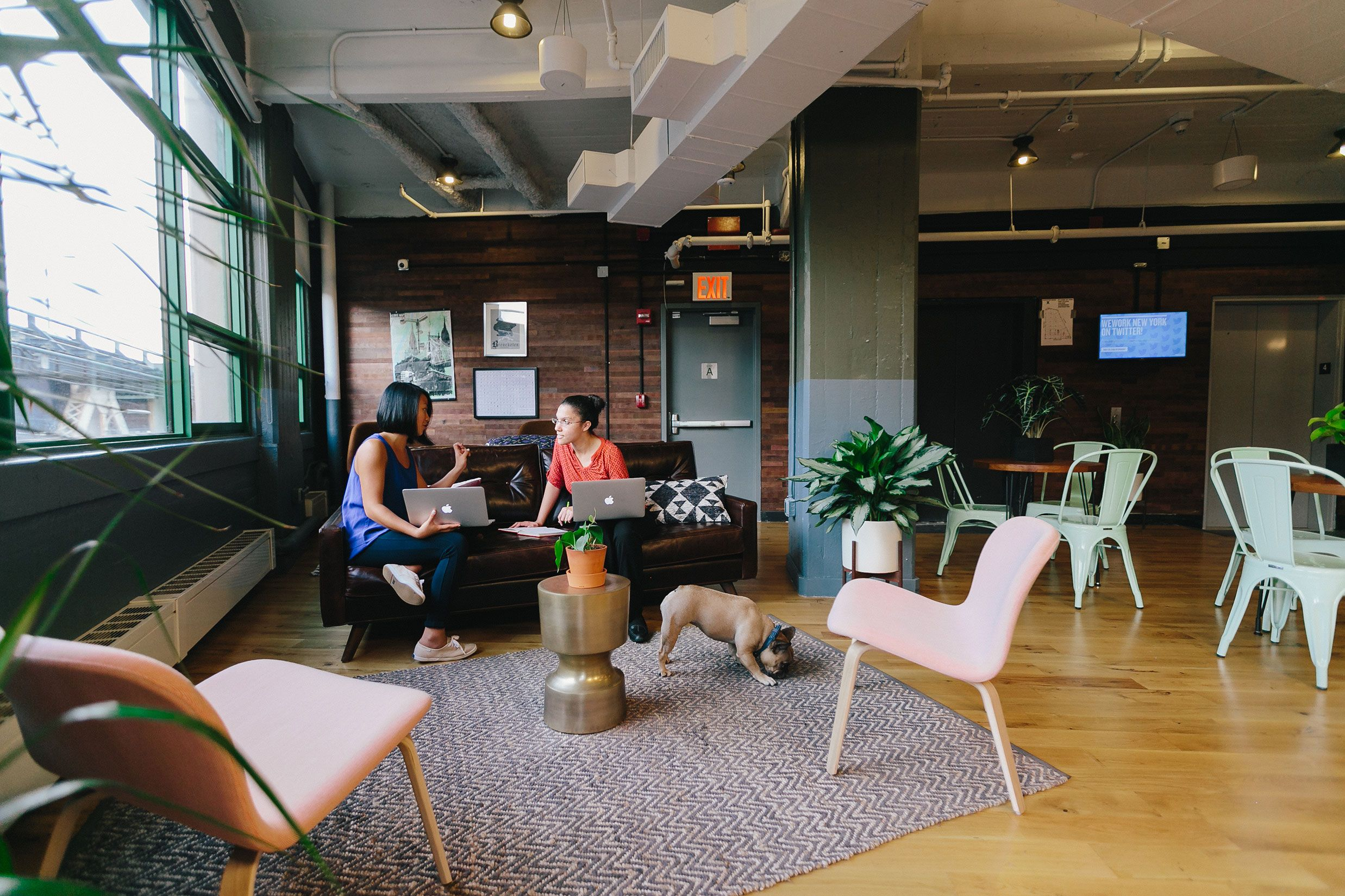 Merveilleux WeWork Dumbo Heights #coworking (Brooklyn, NY, USA) Lounges, Office Seating