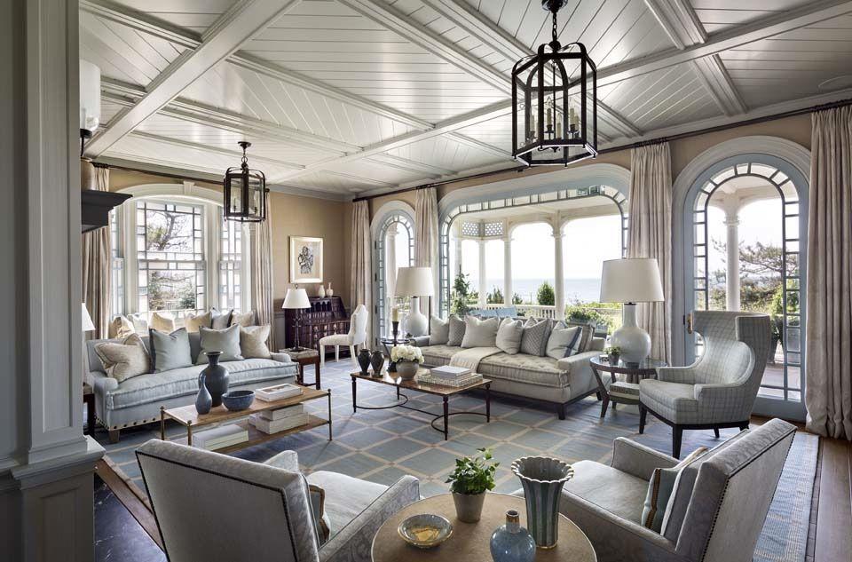 Tour A Shingle Style Hamptons Home Designed By Robert A M
