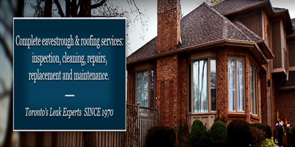 Eavestrough And Gutter Service Provider Toronto Roofing Services Roofing Roof Repair