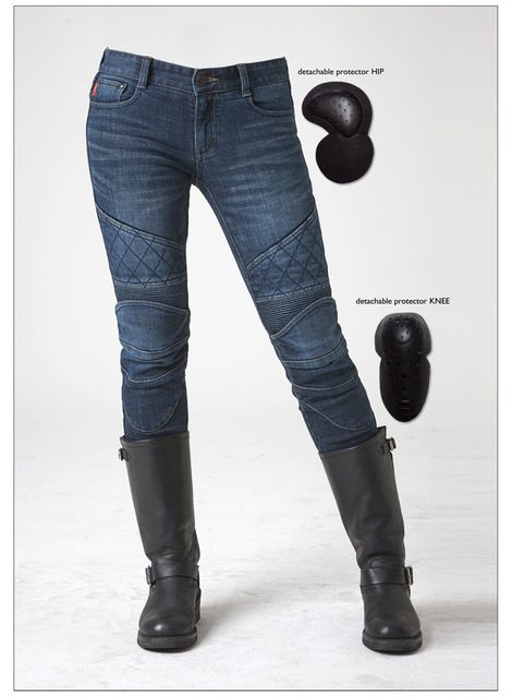 Online Shop Pants Motocross Uglybros Women Ubs-09 Jeans Motorcycle Protector Pants Locomotive Ride Pants Racing Pants size: 25 26 27   Aliexpress Mobile