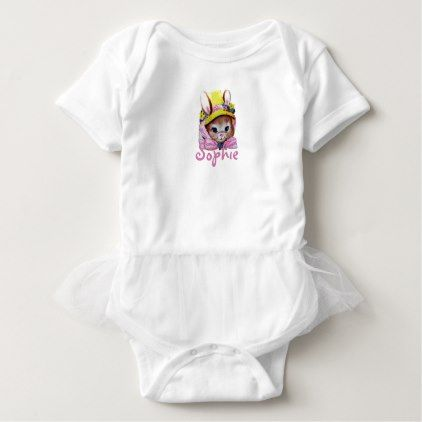 Retrovintage easter bunny baby bodysuit retrovintage easter bunny baby bodysuit retro gifts style cyo diy special idea negle Choice Image