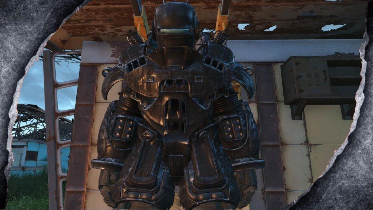 Fallout 4: Liberty Power Armor ~MOD SHOWCASE~ /W Killerkev