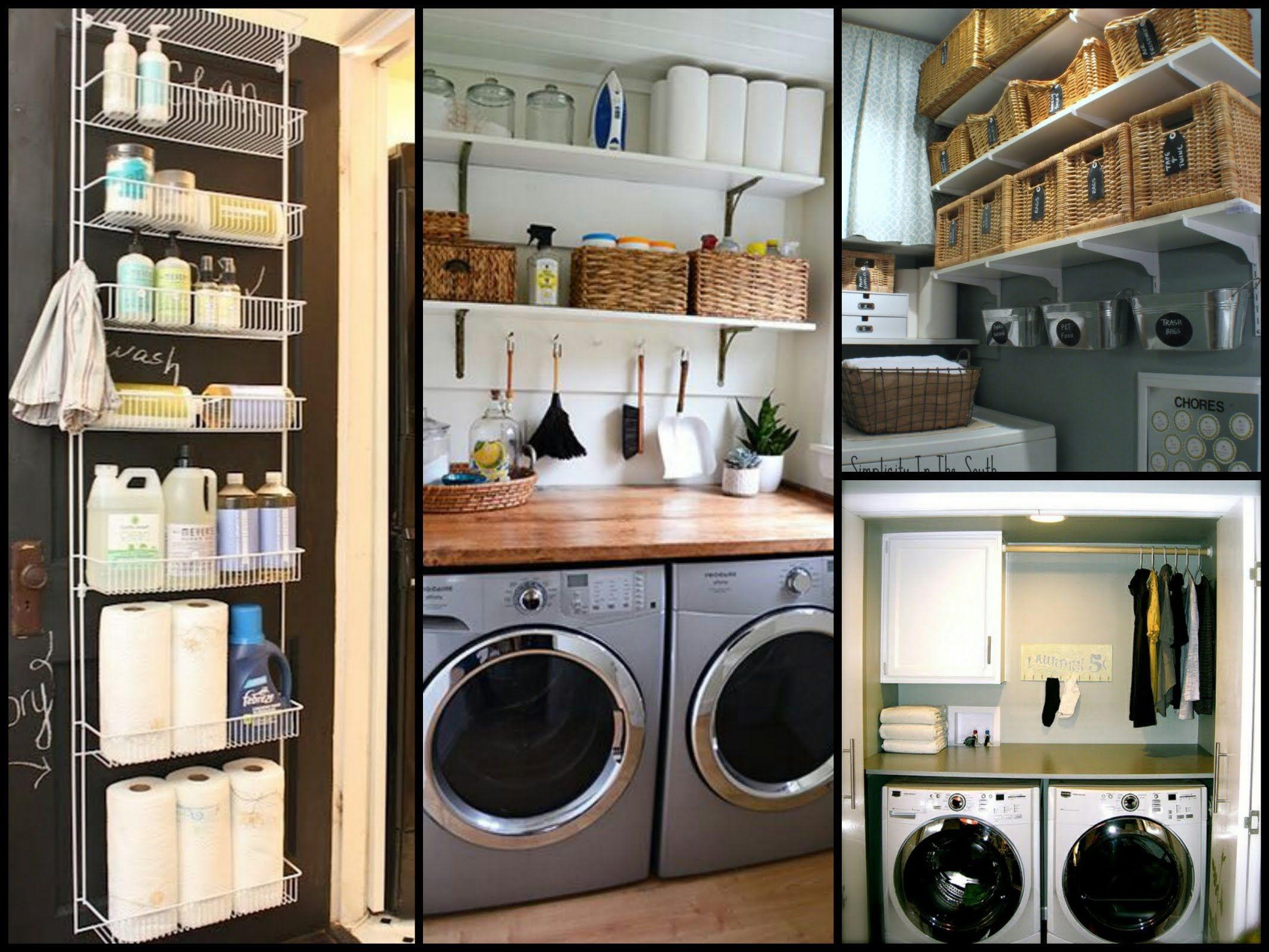 Small Laundry Room Organization Tips  Diy Home Organization Ideas