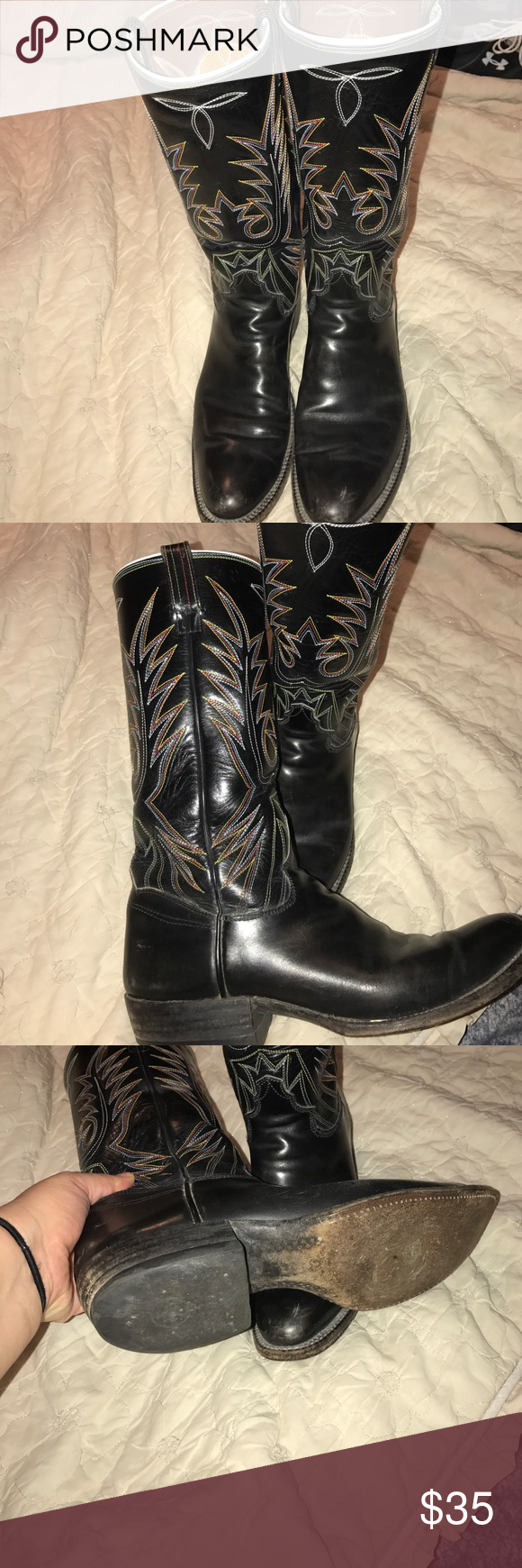 a4b8087d053 Biltrite neoprene boots Beautiful western boots in excellent used ...