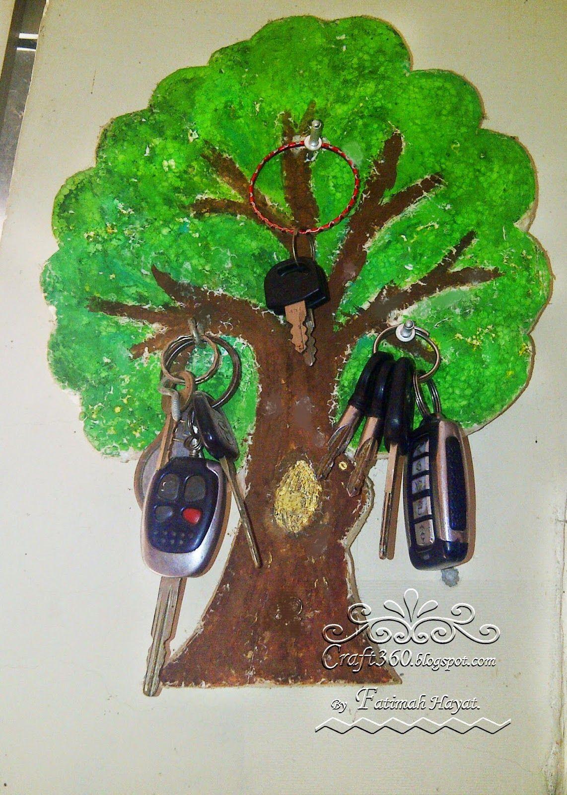 Tree Keychain Holder Crafts Keychain